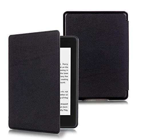 Capa Kindle Paperwhite 10ª geração à prova d'água - Função Liga/Desliga - Fechamento magnético - Cores (Preta)