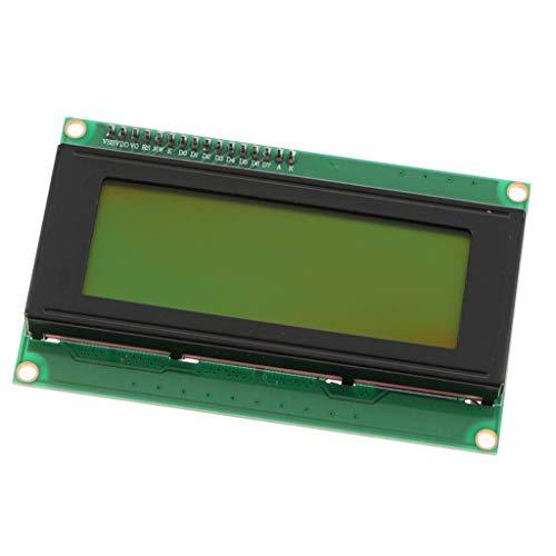2004 LCD-Display (20 x 4, Seriell, mit IIC I2C Adapter), Gelb / Grün