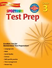 Test Prep, Grade 3 (Spectrum)