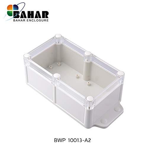 Bahar Enclosure Elektronische Gehäuse Wasserdicht Anschlussdose Wasserdichte Gehäuse IP68 Box Transparent Deckel Waterproof Junction Box Plastikgehäuse Elektronik BWP Serie Verschiedene Größe