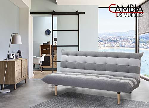 CAMBIA TUS MUEBLES - Sofá Cama Véneto Clic clac 3 plazas t