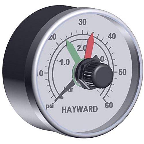 Hayward Manomètre ECX2712B1 avec Cadran Noir
