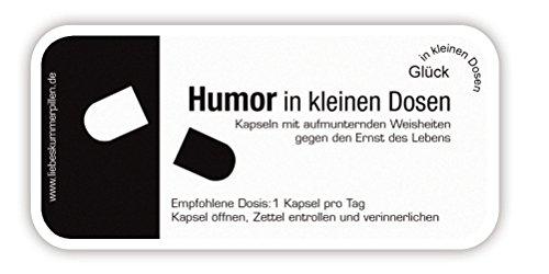 Humor in kleinen Dosen, 7 Kapseln mit Weisheiten