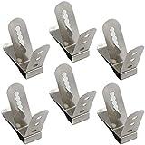 Clip de termómetro universal de acero inoxidable con varios orificios, sensor de temperatura...