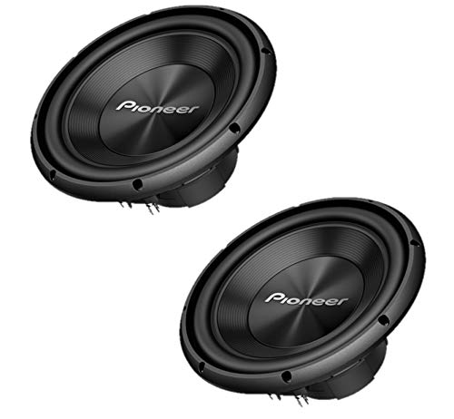 "Sound of Tri-State Two Pioneer TS-A250D4 10"" Dual 4 ohms Voice Coil Subwoofers"