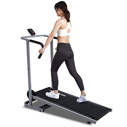MaxKare Manual Walking Treadmill