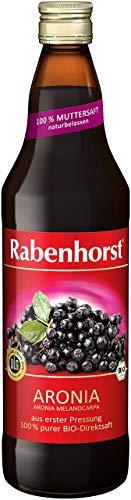 Rabenhorst Bio Aronia Muttersaft, 3er Pack (3 x 0.7 l)
