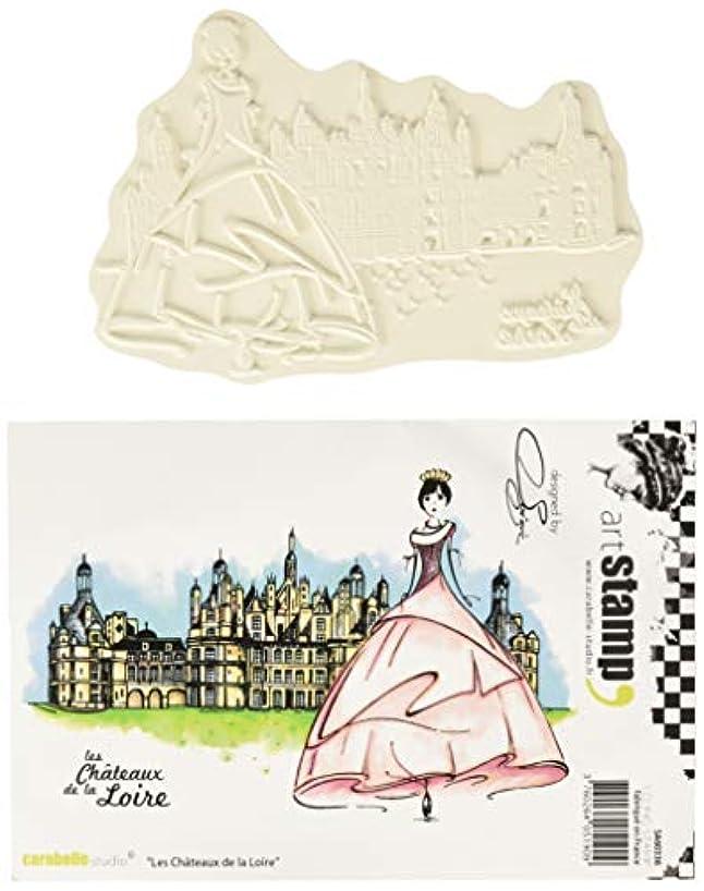Carabelle Studio Les Chateaux De La Loire Cling Stamp A6 by Soizic