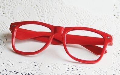 今大人気の ★境界の彼方★ 【 栗山未来 】 小物 小道具 コスプレ道具 赤 メガネ