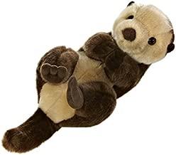 Aurora World Miyoni Sea Otter Plush Brown, 10 inches