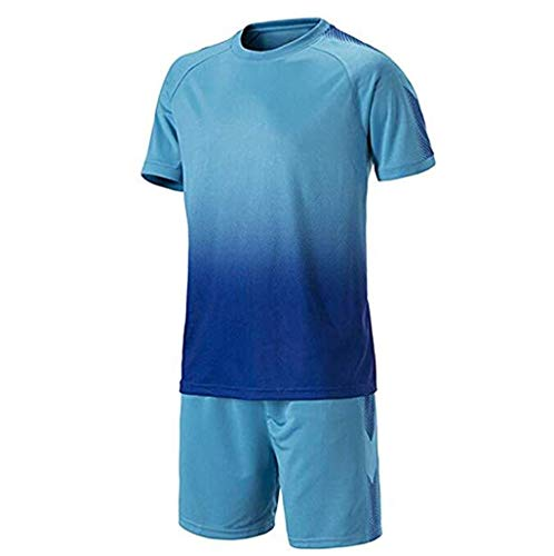 AQWWHY Football Training Suit Youth Adult Soccer Jerseys Sportswear Shirts + Shorts Set Competition Uniforms Tracksuits