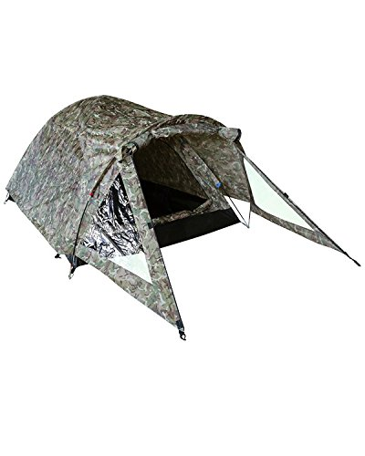 Zooom Combat Elite 2 Man Person Tent Bivi Army BTP Camo Olive Cadet Festival Camping