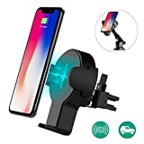 Auckly Qi Fast Wireless Charger, 2 in 1 KFZ...