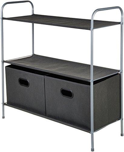 Amazon Basics - Organizador de armario con cestos