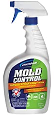 Use to eliminate mold, mildew, musty odors and prevent regrowth EPA-registered formula crushes mold spores as it dries and leaves an invisible, barrier Odorless solution cleans between 80-110 sq. ft. per 32 oz. bottle Unique mold spray contains no bl...