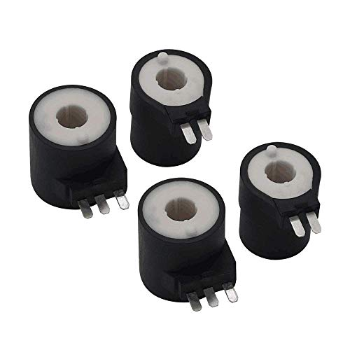 2 Pack of 279834 Dryer Gas Valve Ignition Solenoid Coil Kit Compatible with Whirlpool Dryers Replacement Part by AMI - Replace PS334310 694540 AP3094251