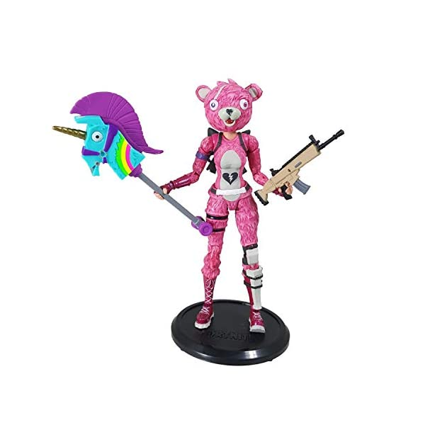 Fortnite - Figura articulada Cuddle Team Leader 18cm 5