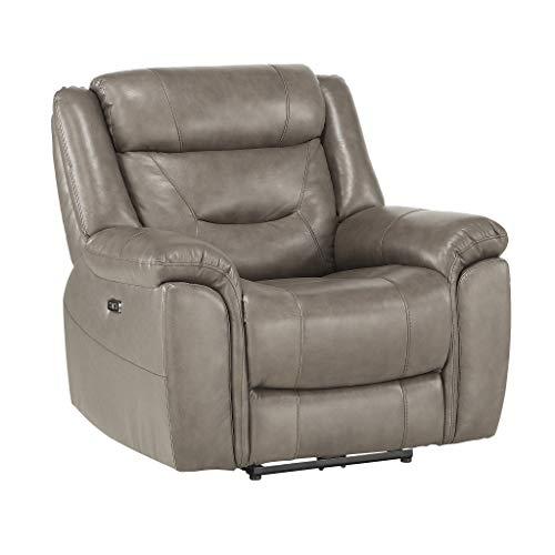 "Homelegance 41"" Power Reclining Chair, Brown"