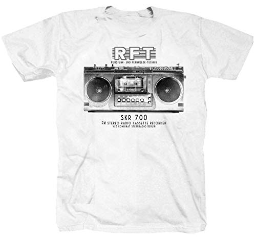 RFT Radio SKR 700 DDR Simson MZ Jugendweihe POS FDJ Trabant Shirt T-Shirt L