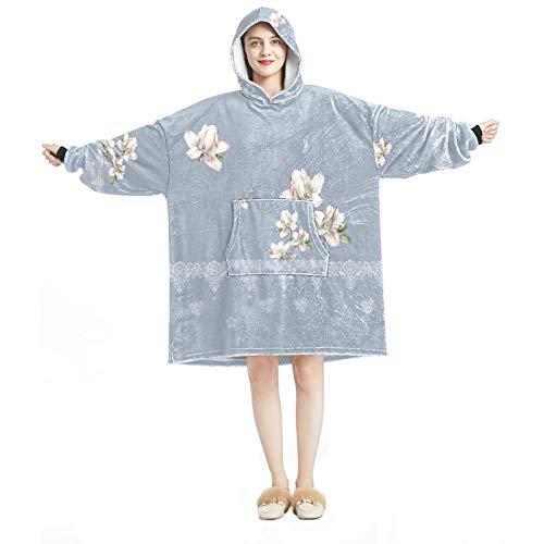 Hood Loungewear - Chándal cómodo para mujer, diseño de ramo de flores