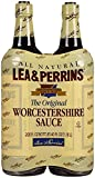 Lea & Perrins Worcestershire Sauce All Natural Kosher - Pack of 2 Bottles - 20oz Each !