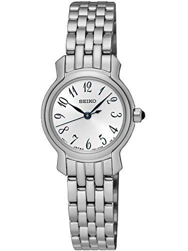 Seiko Dames analoog kwarts horloge met roestvrijstalen armband SXGP63P1