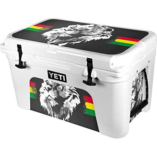 Skinit Decal Skin Compatible with YETI Tundra 45 Hard Cooler - Originally Designed Horizontal Banner - Lion of Judah Design