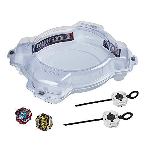 Beyblade Burst Pro Series Elite Champions Pro Set -- Complete Battle Game Set with Beystadium, 2 Battling Top Toys and 2 Launchers