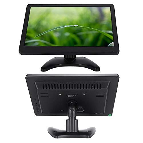 Pantalla de 11.6 Pulgadas, Interfaz USB 16: 9 Pantalla LED de 1366x768, Admite Control de Imagen hacia Arriba y hacia Abajo, Admite HD HDMI de Alta definición, VGA, Entrada AV(EU)