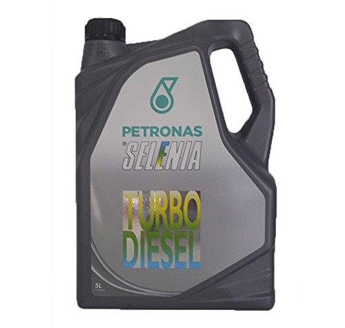 OLIO FIAT Selenia Turbo Diesel - Aceite para motor 10W40, 5L