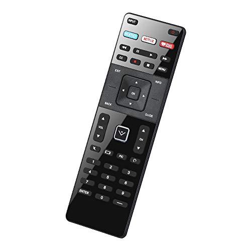 UNOCAR Remote Control for Vizio Smart TV Remote XRT-122 and Vizio Smart TV 4K UHD HDR HDTV SmartCast Internet Vizio D E Series LED LCD 24 28 32 39 40 43 48 50 55 58 60 65 70 inch TV Netflix XUMO
