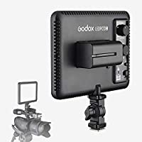 Godox LEDP120C LED 撮影 照明 カメラ ライト/ビデオライト 大光量 3300K-5600K 116LED 12W 色温度調整機能 調光可能 屋内外での撮影に最適 !