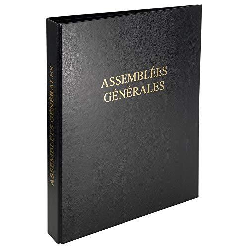 """Exacompta 46210E Classeur """"Assemblee Générale"""" Economique avec 100 feuilles vierges foliotées"""