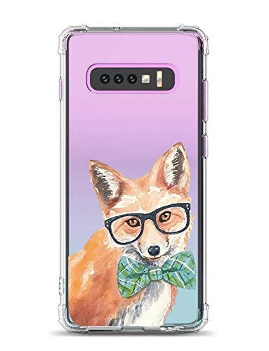 Suhctup Coque Compatible pour Samsung Galaxy S10 5G,Ultra-Mince Souple Gel Coque Souple Coque Silicone [Shock-Absorption] AIR Cushion Protection Coin Housse Anti Choc intégrale Étui Housse