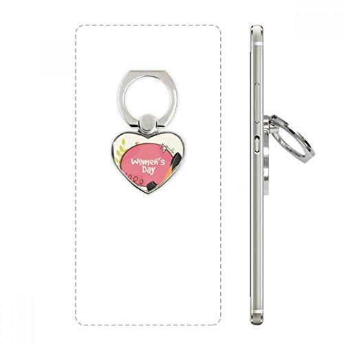 Hoge hakken vrouwen dag patroon hart mobiele telefoon Ring stand houder beugel universele ondersteuning geschenk