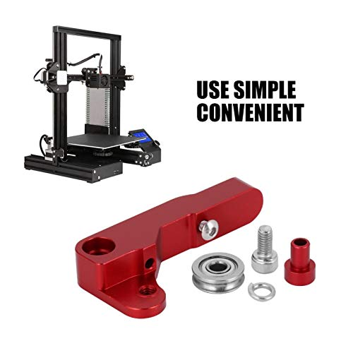 VINGVO Light Weight Durability Easy to Install Extruder Block, Adjustable Simple 3D Printer Extruder Block, Factory for Office Home School
