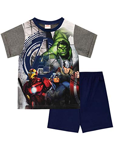 Marvel Boys Avengers Pyjamas Multicoloured Age 9 to 10 Years