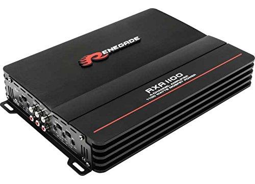 Renegade rxa1100Verstärker für Auto–Verstärker für Auto (schwarz, 50–250Hz, 50–250Hz, 0–12dB)