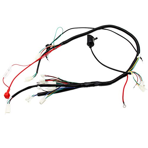 GY6 Wireloom Wiring Harness Assembly For Scooter 125cc 150cc 200cc 250cc Chinese Elecric Start Kandi ATV Quad Bike Atomik Buggy