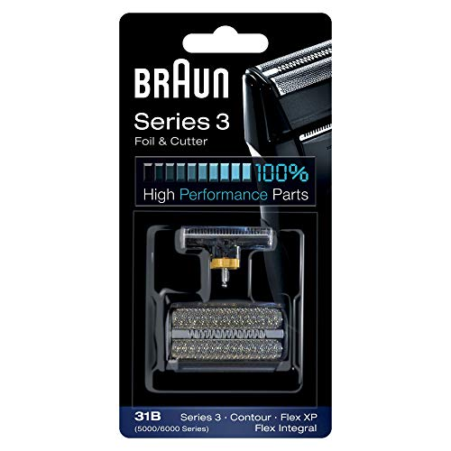 Braun 31B Replacement Foil and Cutter Cassette Multi Black BLS Combi Pack