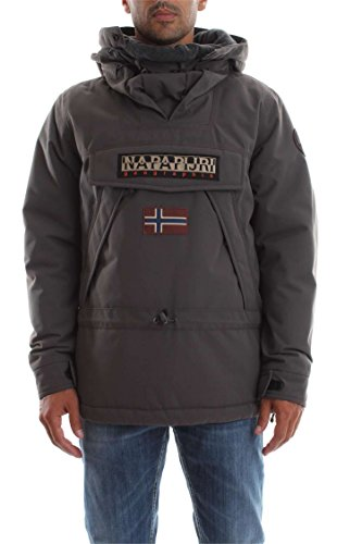 Napapijri Herren Skidoo 1 Jacke, Grau (Dark Grey Solid 198), Large