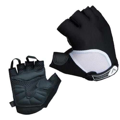 ATTONO Fahrradhandschuhe Damen Gel Fahrrad Handschuhe Gr.5-8