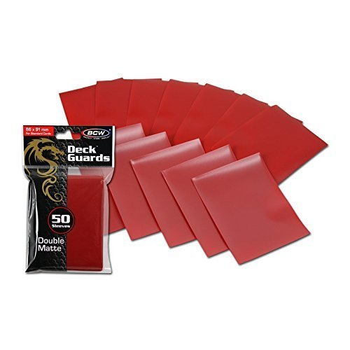 1000 Double Matte Deck Guard Sleeves for Collectable Gaming Cards like Magic The Gathering MTG, Pokemon & More. by BCW image