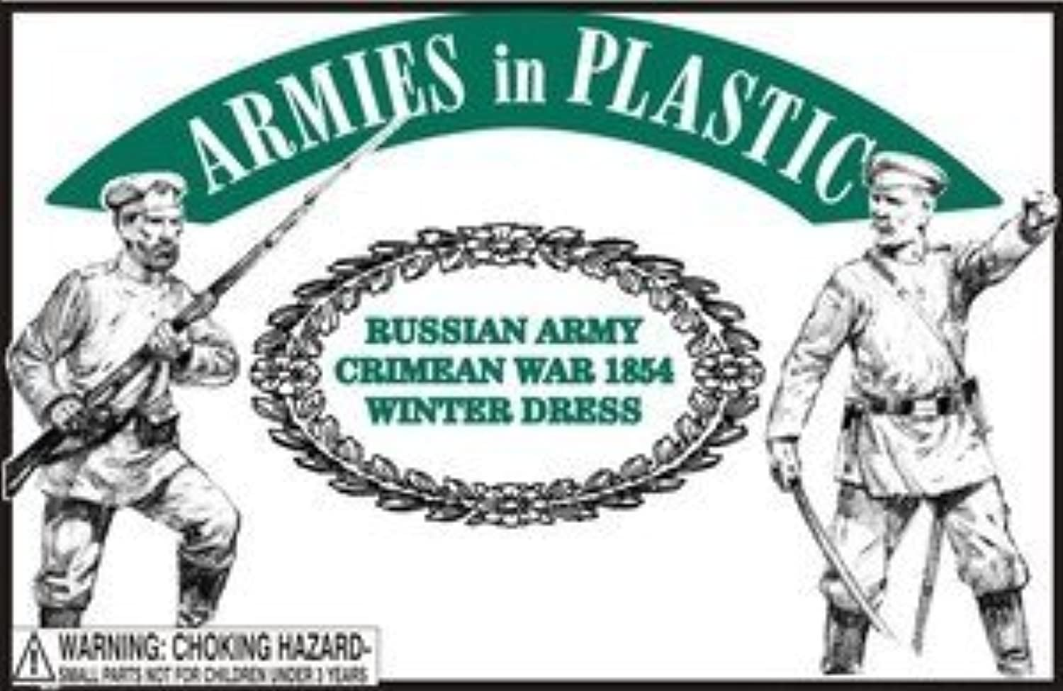 Crimean War 1854 Russian Army Winter Dress (20) 1 32 Armies in Plastic by Armies in Plastic