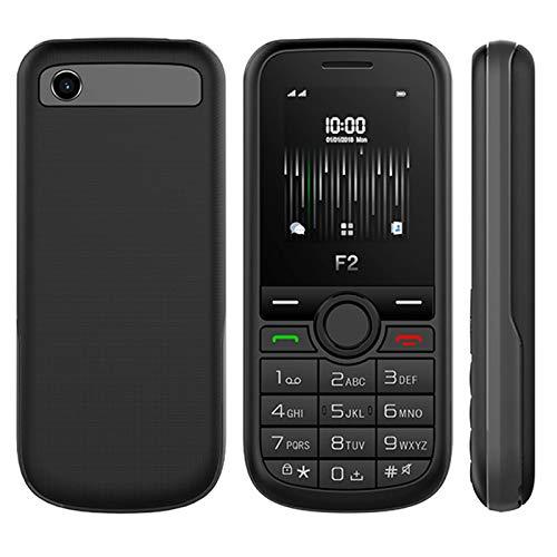 Jeija Pack Prépayé SFR avec Téléphone Portable Clavier Touches Sélection F2 + Carte SIM - Écran Couleur 1,8 Pouces - Noir