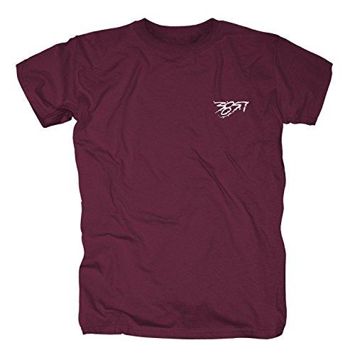 385idéal - Pocket Bordeauxrot T-Shirt Nimo Olexesh (S)