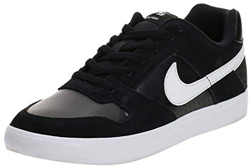 Nike SB Delta Force Vulc, Zapatillas de Skateboard Unisex Adulto, Multicolor (Black/White/Anthracite/White 010), 42 EU
