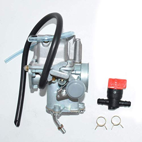 Carbman YFM80 Carburetor Compatible with Yamaha Raptor 80 ATV Quad Carb 2002-2008 Carburetor