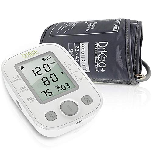 "Blood Pressure Monitor Upper Arm - Automatic Blood Pressure Monitors - Digital Blood Pressure Machine - BP Monitor - 9"" to 17"" Large BP Cuff for Upper Arm - Blood Pressure Kit for High Blood Pressure"