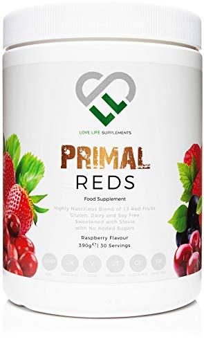 LLS Primal rojos en polvo | 390g Tub / 30 porciones |...